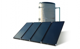 Centralized Solar Water Heater